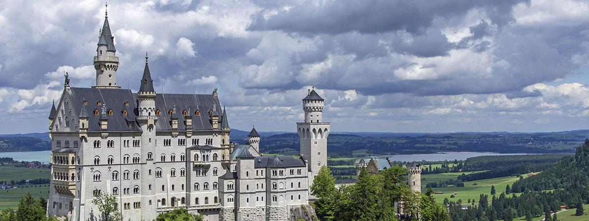 Schloss Neuschwanstein, Schloss Hohenschwangau, Marienbrücke, Füssen