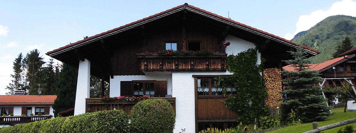 Urlaub in den schönsten Gegenden in den Bayrischen Alpen Deutschlands